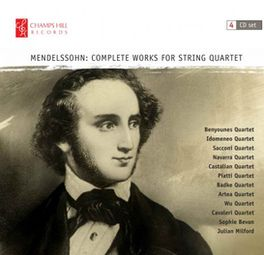 Mendelssohn Complete Works for String Quartet